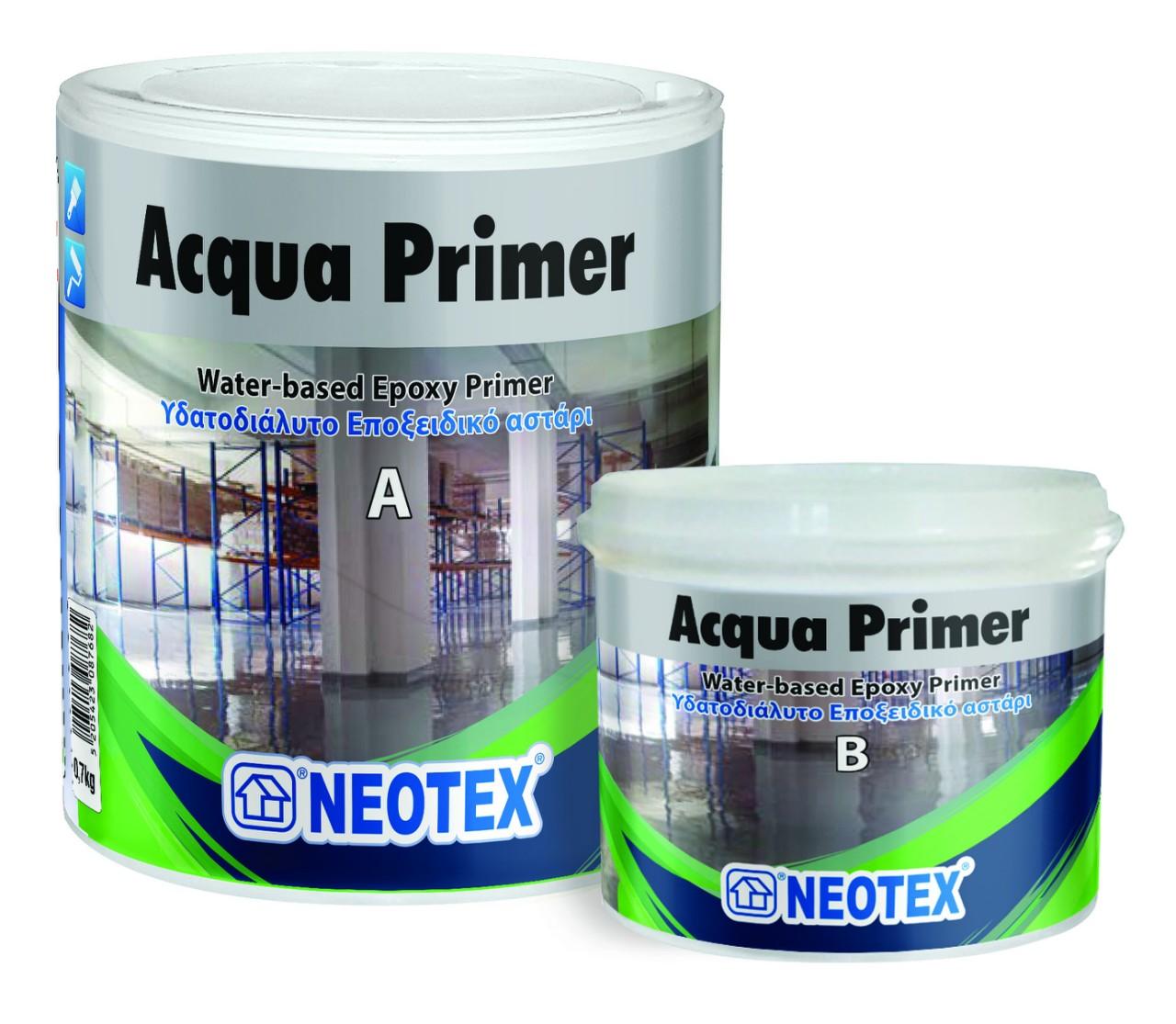 Эпоксидная грунтовка на водной основе Acqua Primer