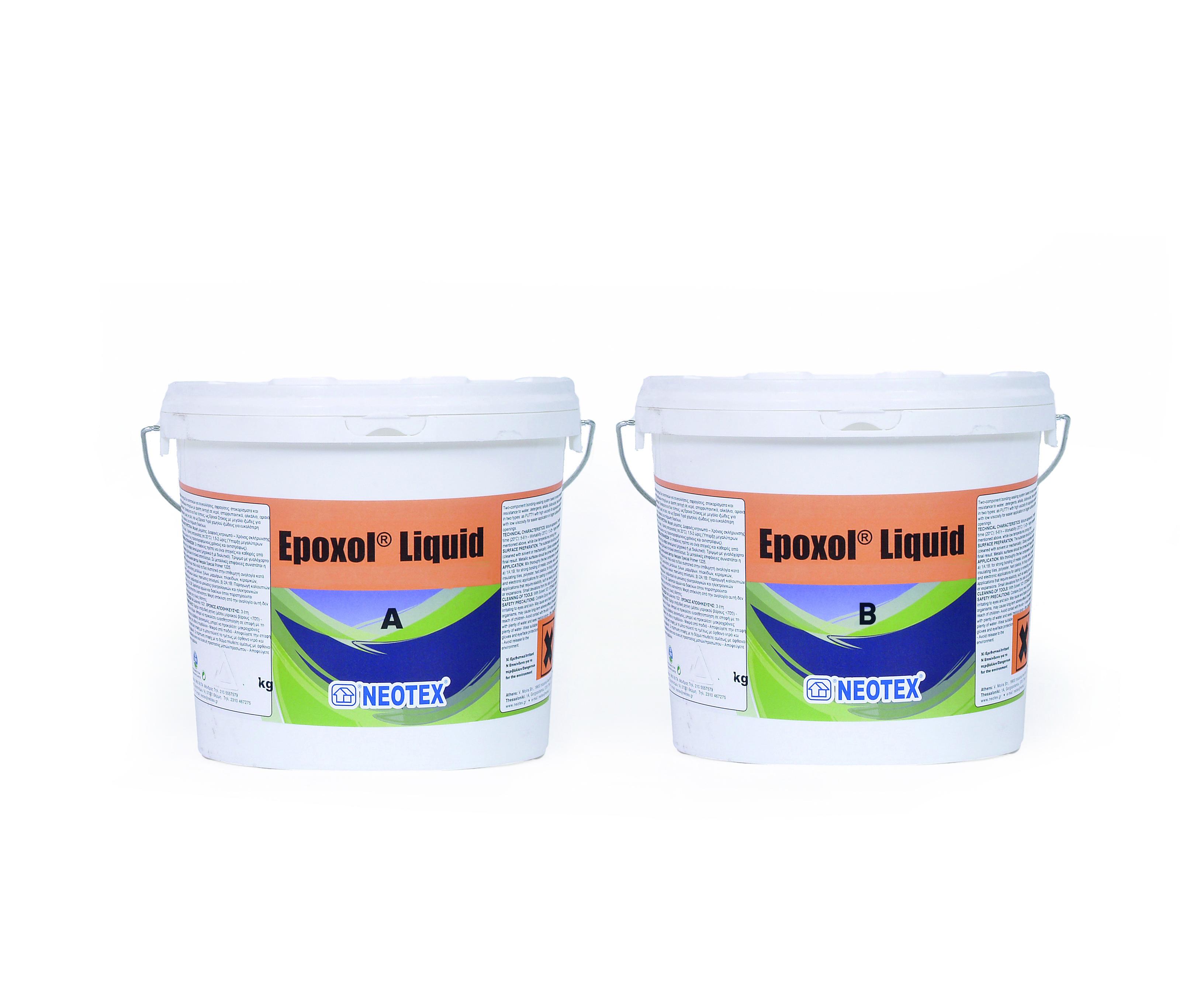 Эпоксидная смесь Epoxol Putty/Liquid