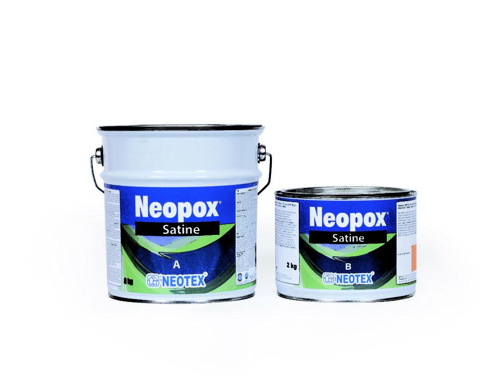 Эпоксидное покрытие для полов Neopox Satine