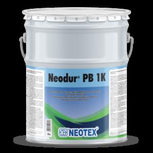 Neodur PB 1K, однокомпонентне еластомірне поліуретанове гідроізоляційне покриття