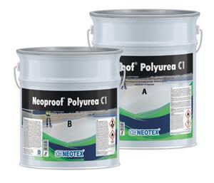 Гідроізоляційне полісечовинне покриття Neoproof Polyurea C1