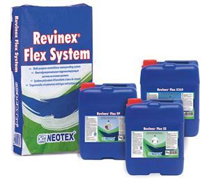 Гидроизоляционная система Revinex Flex