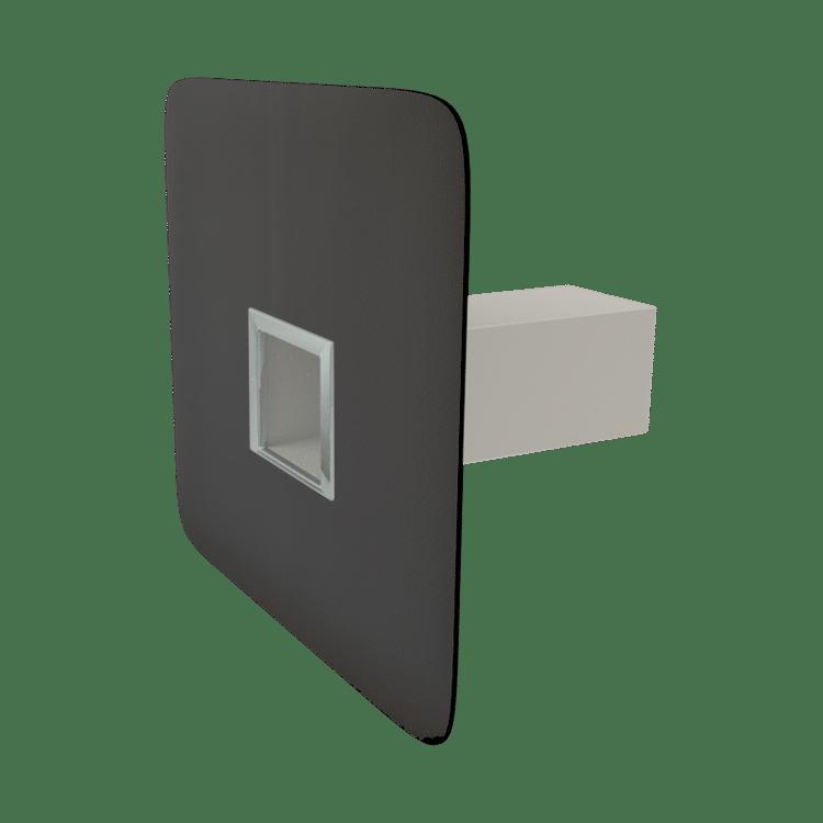 Аварийный перелив квадратного сечения с приваренным оригинальным фартуком
