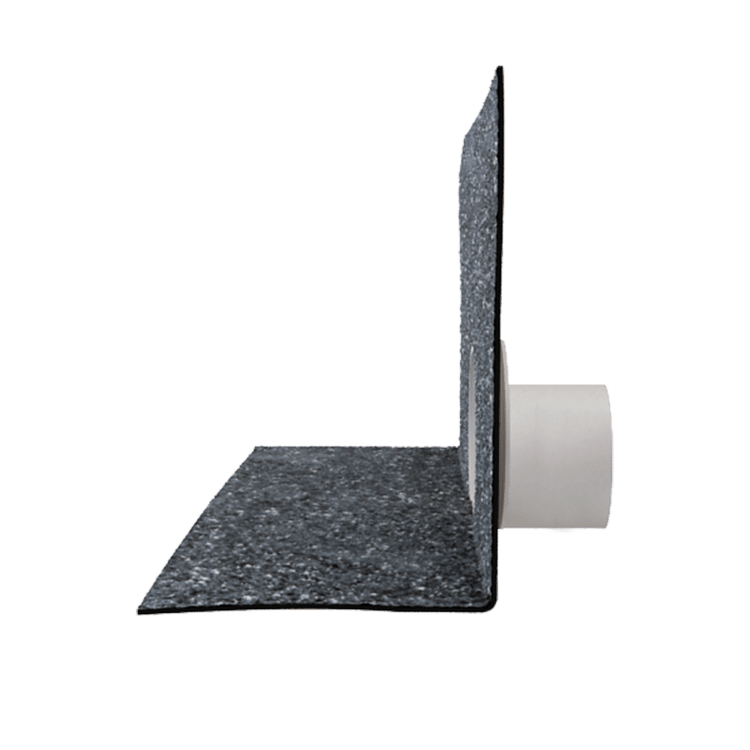 Парапетная воронка без трубы с приваренным битумным фартуком