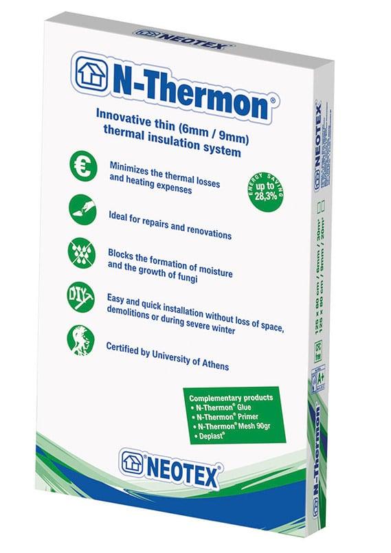 Матеріал для енергозбереження N-Thermon