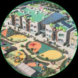 Дорожное покрытие на детских площадках