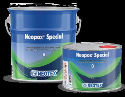 Эпоксидное покрытие для полов Neopox Special