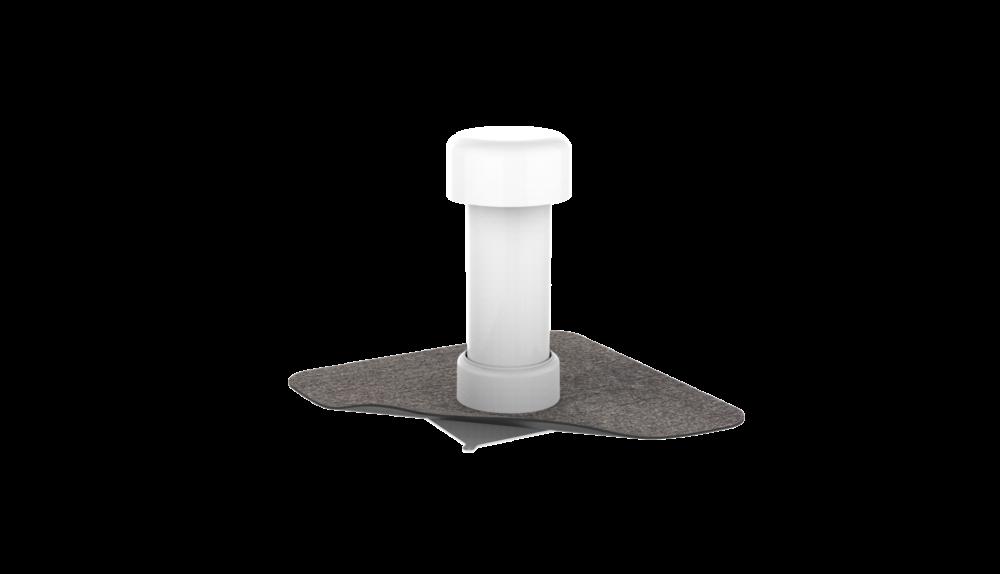 Вентиляционный выход для кровли с приваренным битумным фартуком