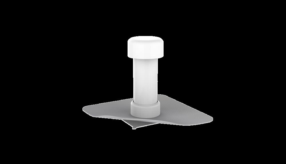 Аэратор кровельный с фартуком из ПВХ-мембраны