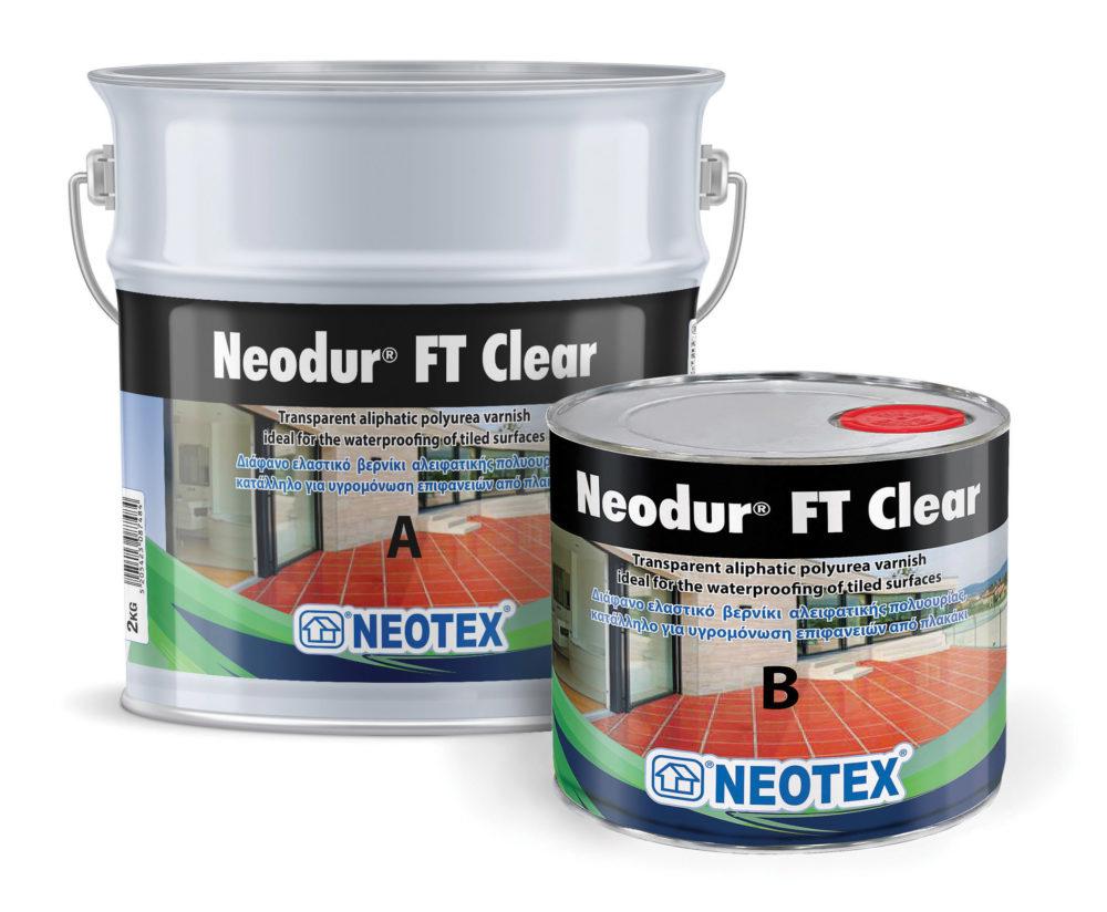 Еластичний лак Neodur FT Clear