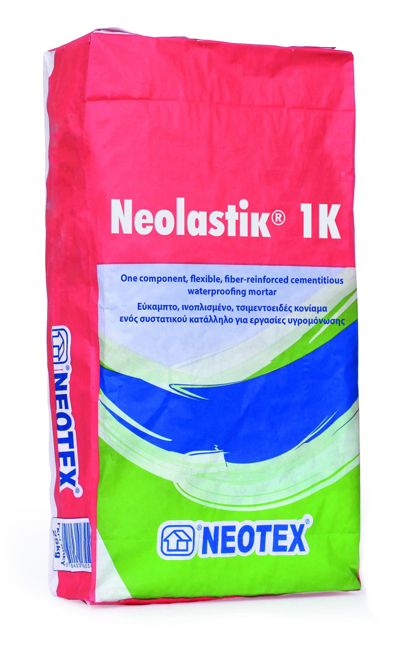 В'яжучий розчин Neolastik 1K