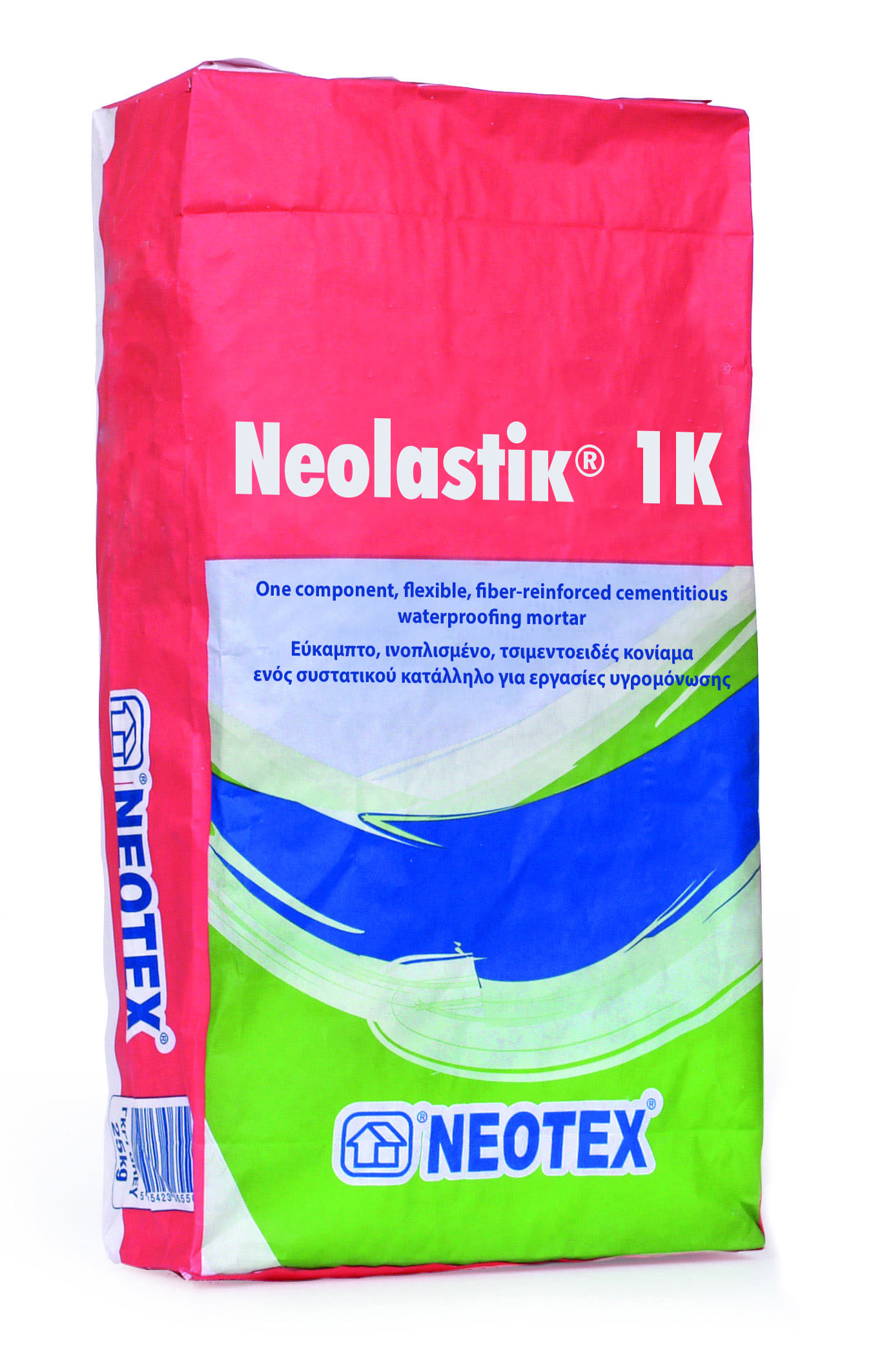 Вяжущий раствор Neolastik 1K