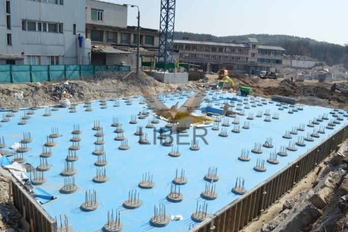 Гидроизоляция подземных сооружений ПВХ мембраной
