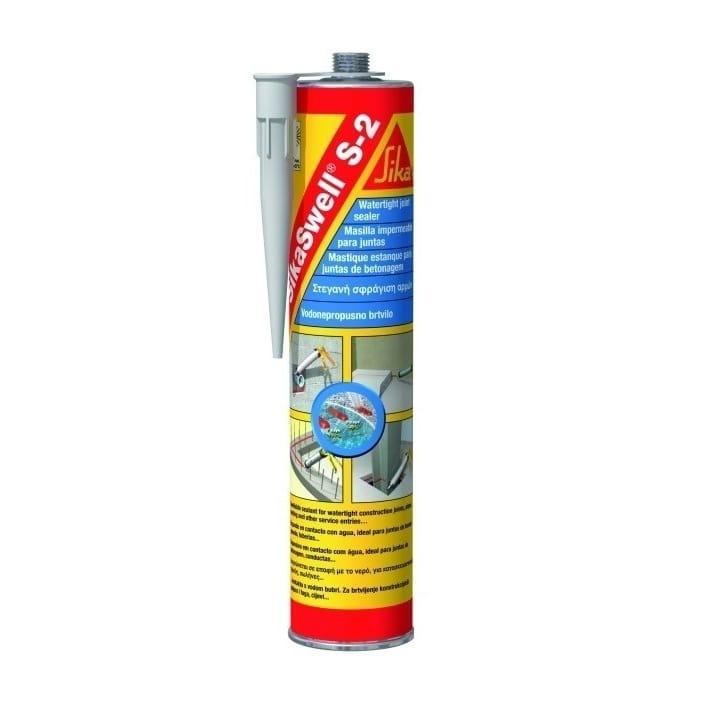 SikaSwell S-2, полиуретановый гидрофильный набухающий герметик