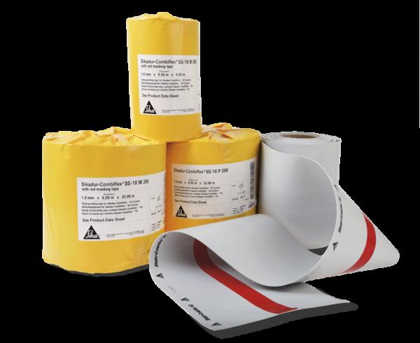 Sikadur-Combiflex SG Tape, гидроизоляционная лента