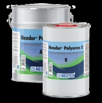 Neodur Polyurea S, двокомпонентний лак для герметизації кам'яних килимів