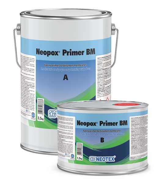 Neopox Primer BM, епоксидна ґрунтовка для нанесення на бітумні поверхні